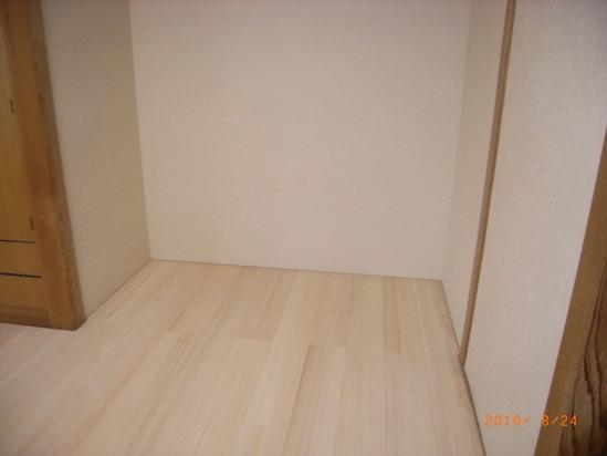 樅の木の床