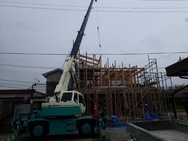 2階建て方
