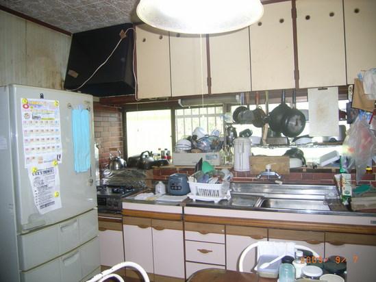 キッチンが・・・