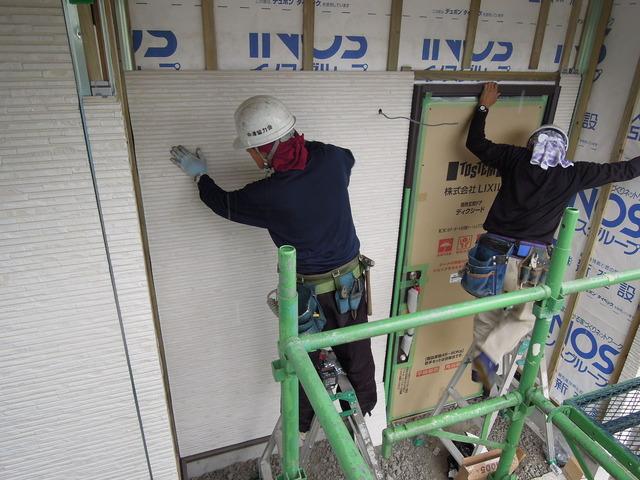 外壁工事 (2)