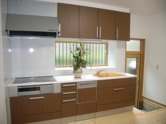 新しいキッチン!!
