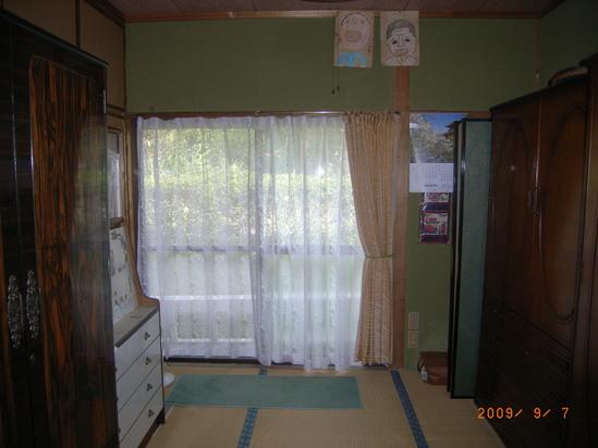 和室が・・・