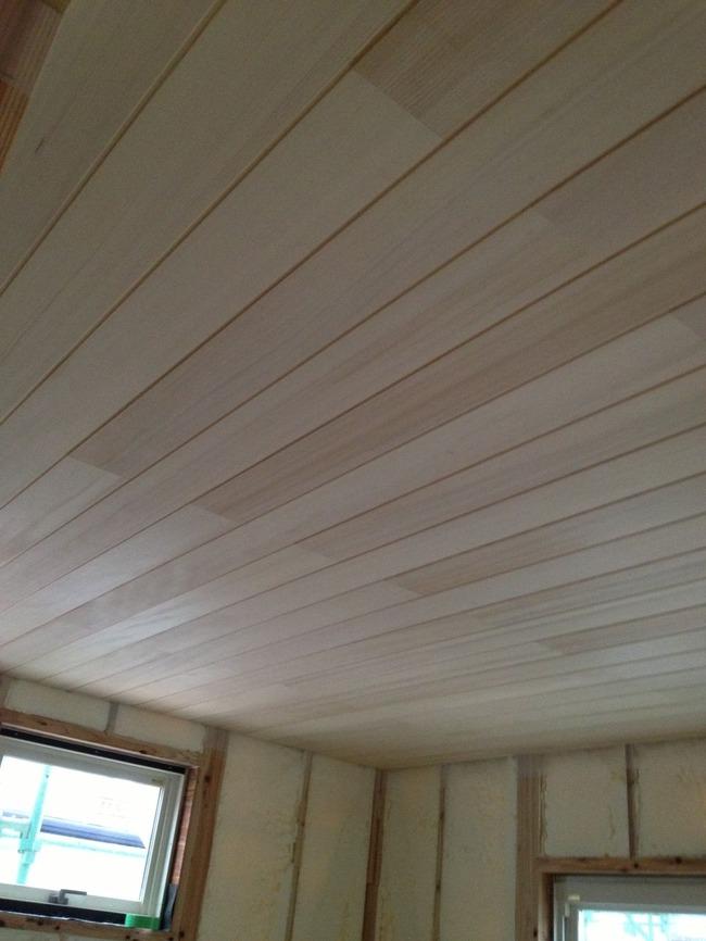2階子供室天井