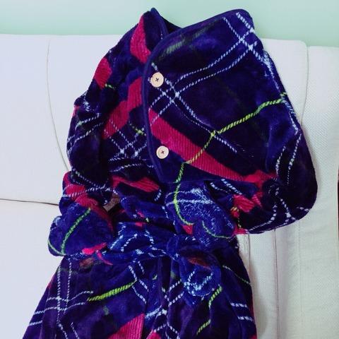 着る毛布groony あったかサラサラモコモコでお気に入り!