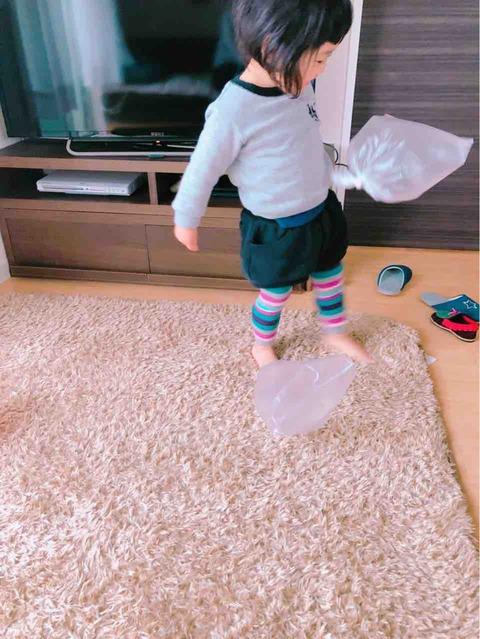 2歳児の体力を室内で消費させて寝かしつける方法