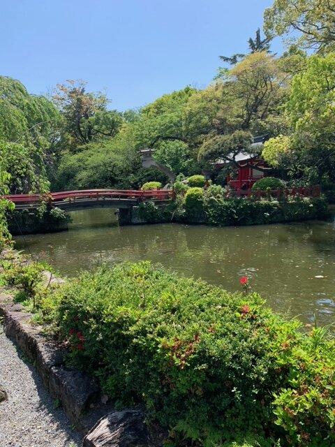 三島大社庭