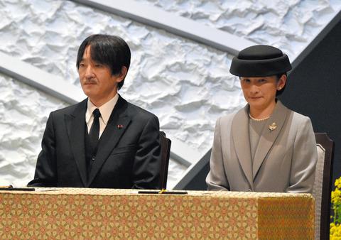2017・3・11政府主催の東日本大震災の追悼式 (2)