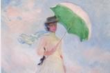 モネ 日傘の女性
