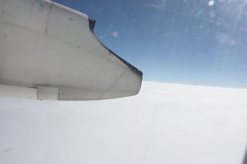 雲海の上を行く