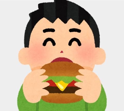 ハンバーガー絵 (2)