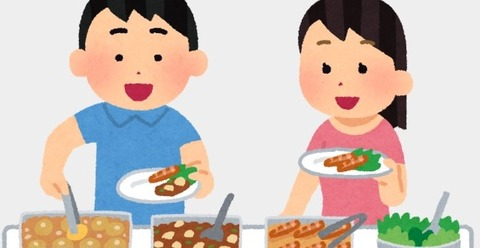 食べ放題 (2)