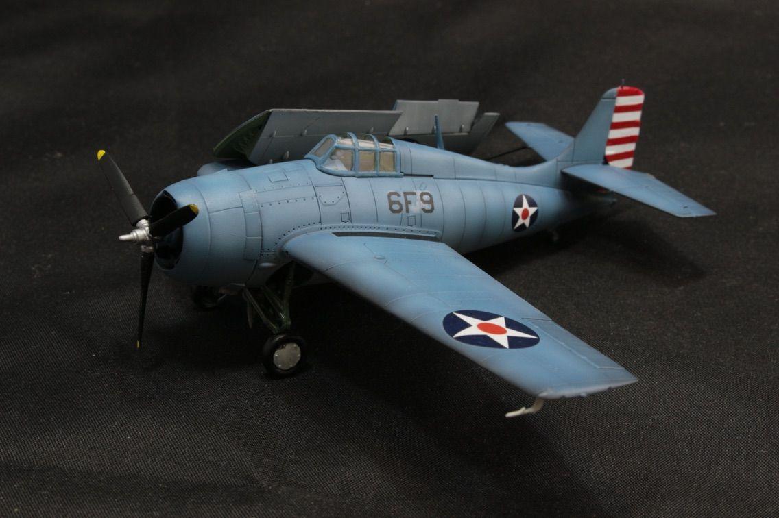第67物資集積所   エアフィックス 1/72 F4Fワイルドキャット(エンタープライズ搭載機) コメント