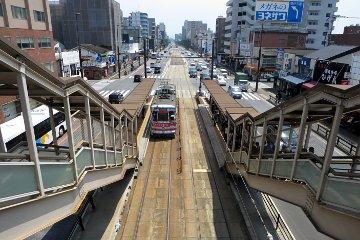 新水前寺駅前