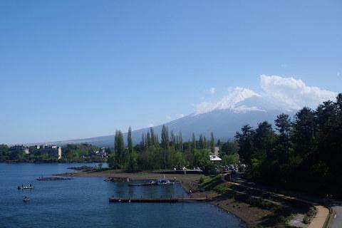 大橋からの富士