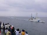 巡視艇たち