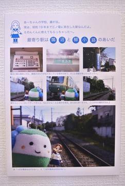 青い花×江ノ電フェア藤ヶ谷