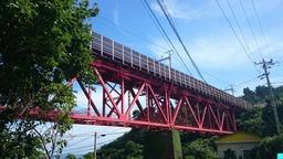 白糸川橋梁 2