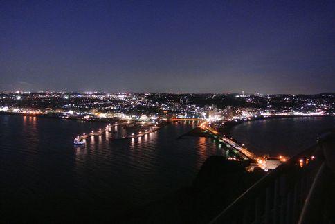 江の島シー キャンドルからの夜景