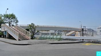 へいわだい跨線人道橋 1