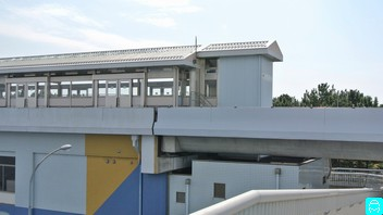 八景島駅歩道橋 5