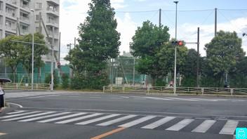 姫ノ島公園前交差点