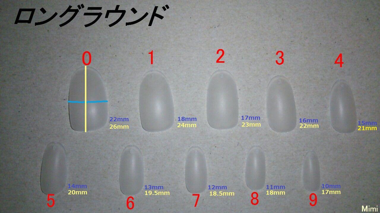 チップ0~9サイズ表