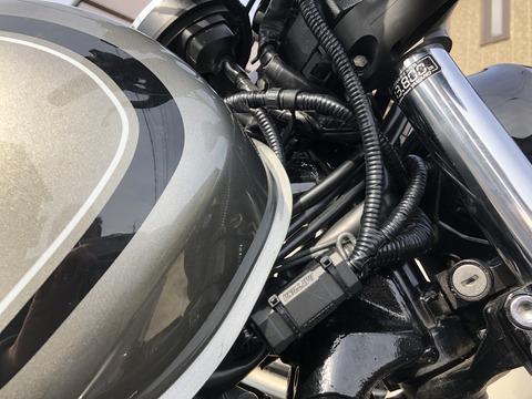 バイク用配線保護チューブ