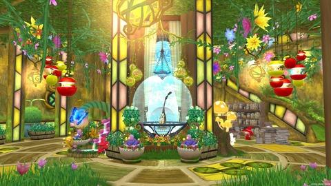 【ハウマイ】かわいい系 植物園と小人たち シアン