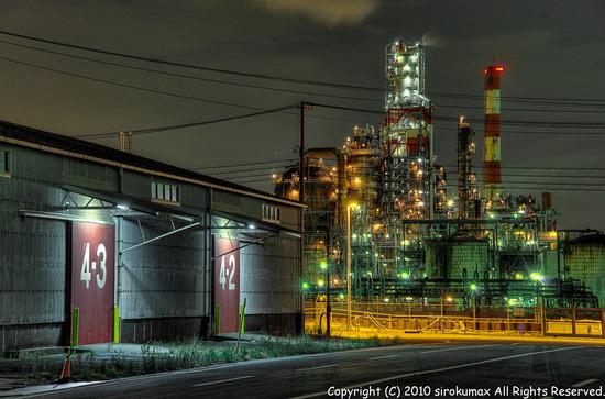 千鳥町工場夜景HDR