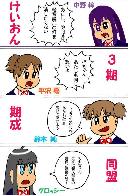 けいおん3期期成同盟結成!