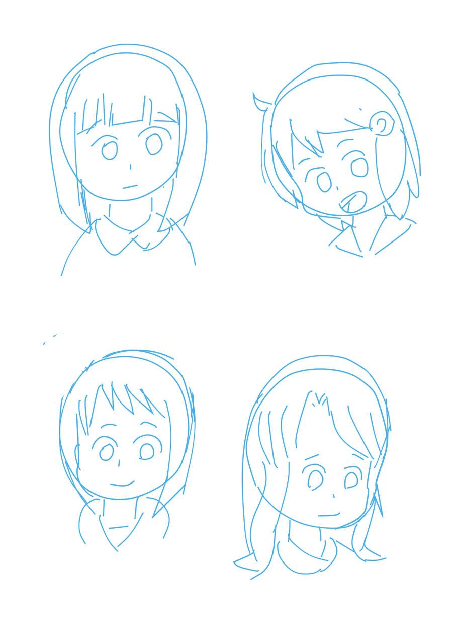 アニメ用キャラ