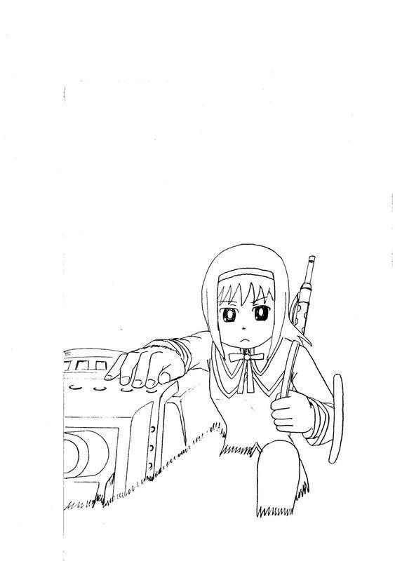冬コミ墨汁に向けGO!