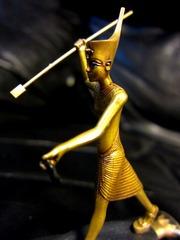 ツタンカーメン黄金の小像