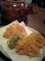 天ぷらとソバ湯@並木藪蕎麦