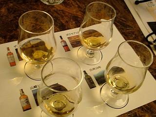 4種のウィスキー@森香るハイボールナイト