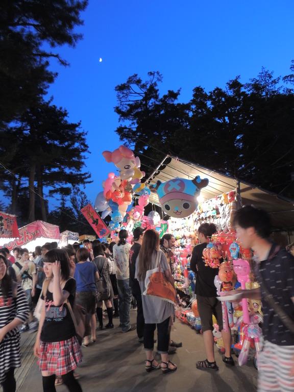 北海道護国神社祭初日