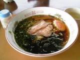 醤油ラーメン@スカイポート水ヶ塚