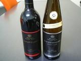 クリスマスプレゼントの赤白ドイツワイン