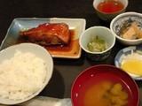 金目鯛煮付け定食@福田屋