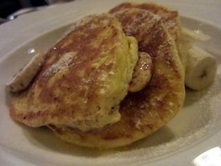 Ricotta Hotcakes with Banana