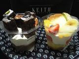 キースマンハッタンのケーキ