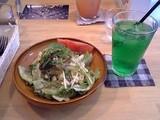 マカロニ野菜サラダ@うさぎカフェ