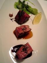 特選牛フィレ肉のグリル3種の味わい