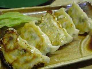 地鶏餃子(野菜)