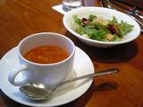 スープとサラダ@グリル満天星日本橋三越店