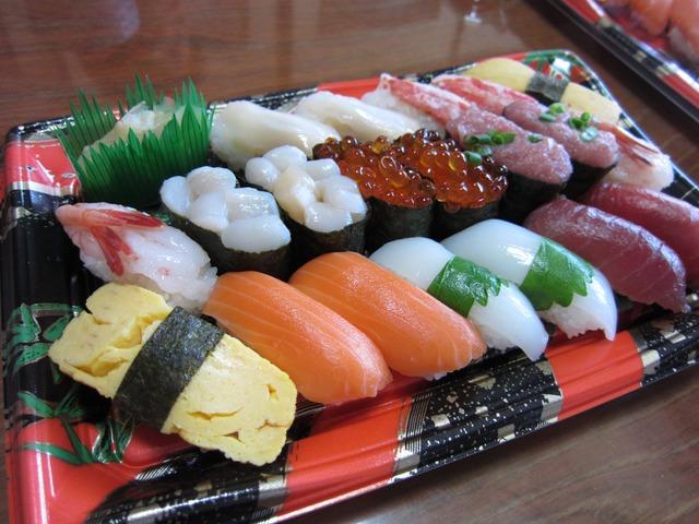 おもてなしの握り寿司