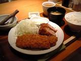 定番カツ組み合わせ定食(ヒレ、しゃぶ)@さぼてん