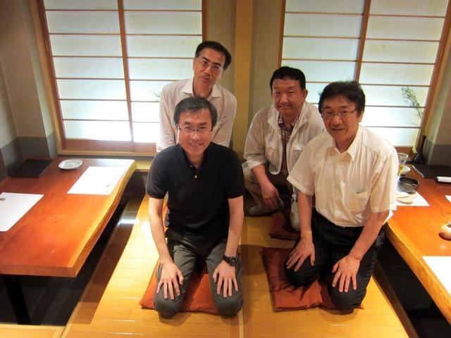 札幌に勤める高校同級生と