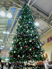 クリスマスツリー@JR上野駅構内