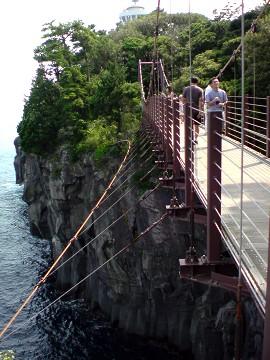 伊豆高原城ヶ崎海岸吊り橋